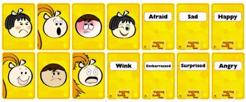 Getting To Know You: Facial Expression Cards