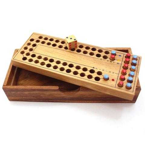 Horse Racing Tactile Wooden Game
