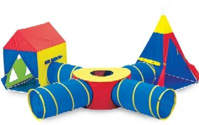 Pacific Play Tent Tunnel Of Fun Junction Set