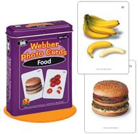 Webber Photo Cards - Foods (Model Wfc-04)