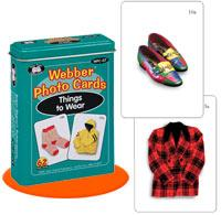 Webber Photo Cards - Things To Wear (Model Wfc-07)