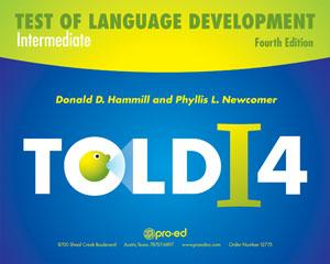 Test Of Language Development-Intermediate — Fourth Edition
