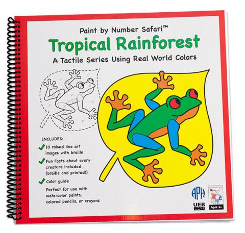 Paint by Number Safari: Tropical Rainforest