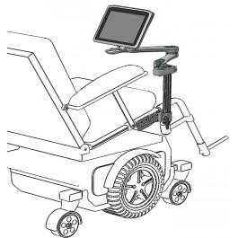 Mount'n Mover Dual Arm Wheelchair Mounting Systems