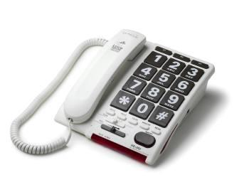 Jumbo Key Amplified Telephone With 600 Times Amplification (Model Hd60)