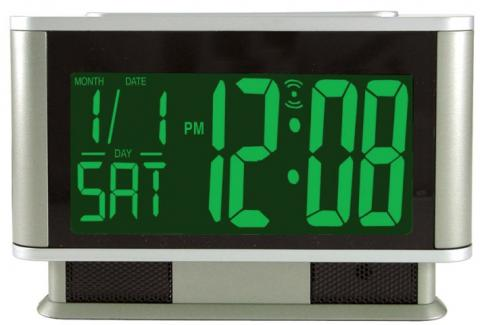 Advance Large Display Electric Alarm Clock With Day & Date (Model 4248)