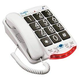 Clarity Amplified Telephone With Talk Back Numbers (Model Jv35)