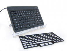 Mini-Keyboard With Keyguard (Model Mkk-100)