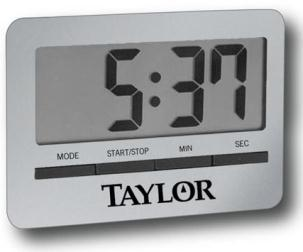 Slim Digital Timer With Clock And Alarm (Model 5846)