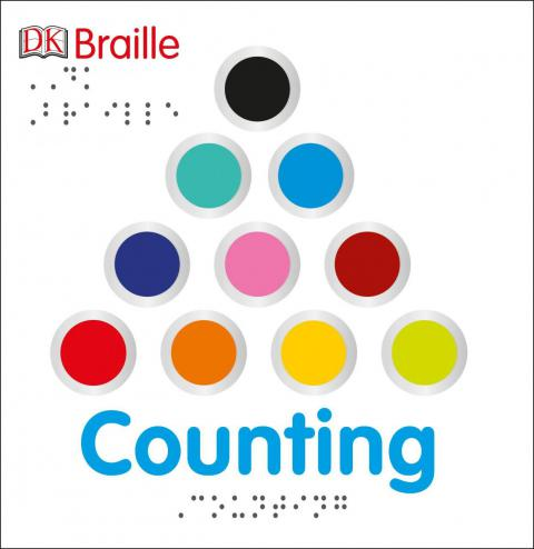 DK Braille: Counting Board book