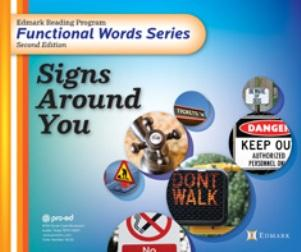 Edmark Functional Word Series - Signs Around You