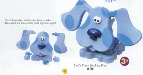 Blues Clues Stacking Blue (Model 96756)