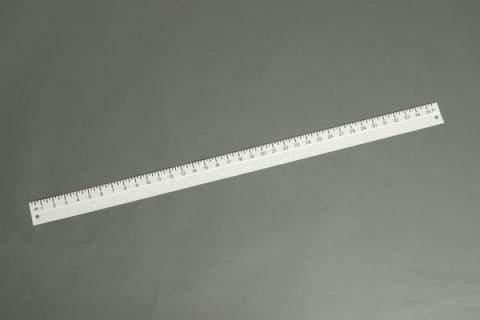 Braille-Large Print Yardstick