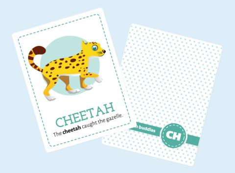 CH-sound Flash Cards