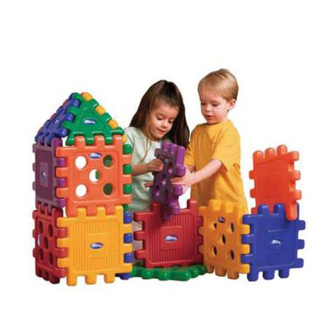 CarePlay Heavy Duty Grid Block Set, Set of 48