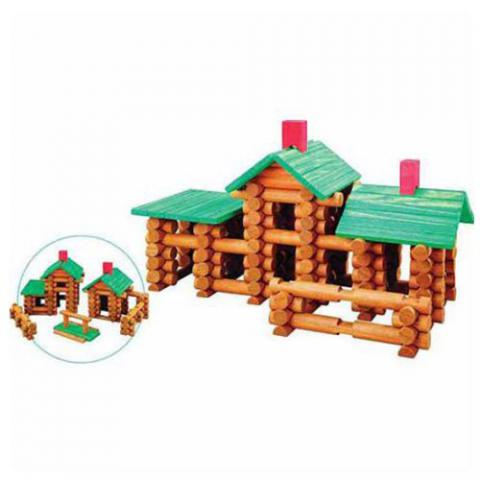Childcraft Tumbletree Timbers Building Set, Ages 3 and Above, Set of 162