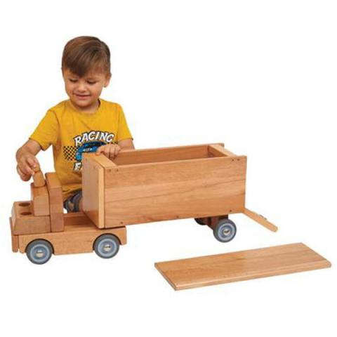 ECR4Kids Big Rig Vehicle, Ages 12 Months to 6 Years