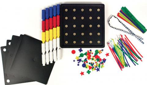 Increasing Complexity CVI Pegboard (1-08160-00)