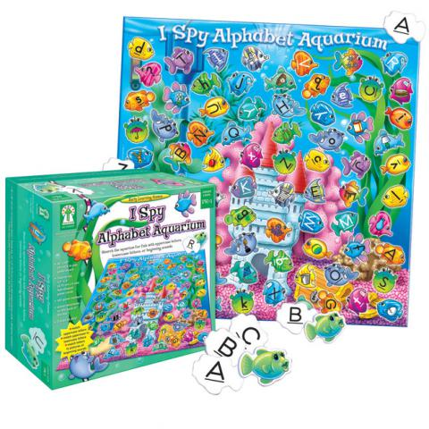Key Education I Spy Alphabet Aquarium Game