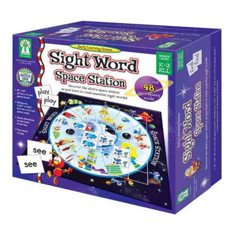 Key Education Sight Word Space Station Game