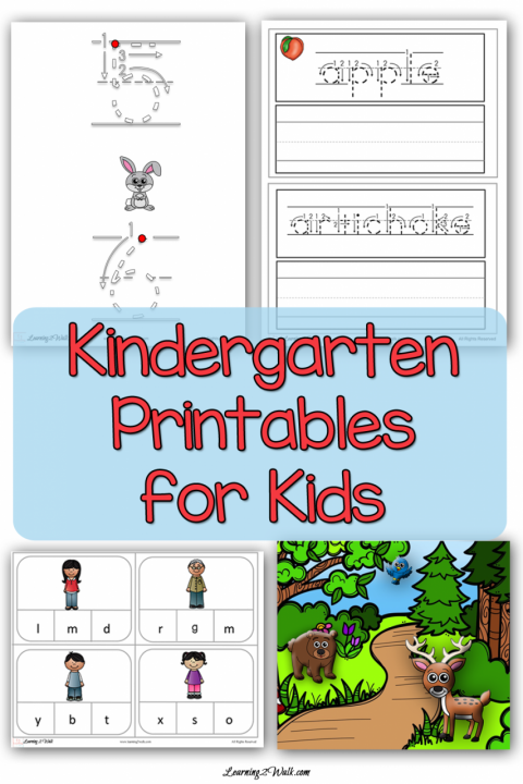 Kindergarten Worksheets for Kids