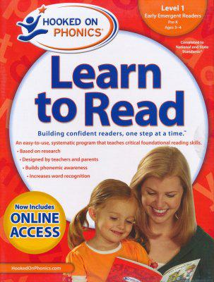 Hooked on Phonics Learn to Read - Level 1: Early Emergent Readers (Pre-K | Ages 3-4)