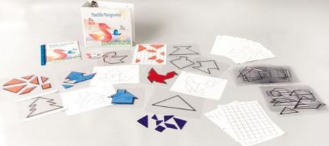 Tactile Tangrams Kit (1-08439-00)