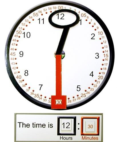 Magnetic Clock & Teaching Hands