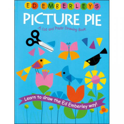 PICTURE PIE: A Cut and Paste Drawing Book